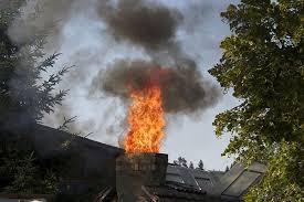 Incendio en chimene